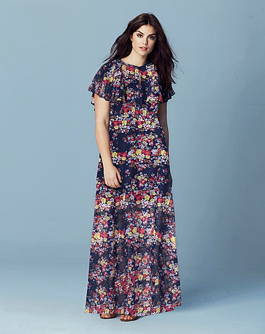Cape Maxi Dress £65 Click to visit Simply Be