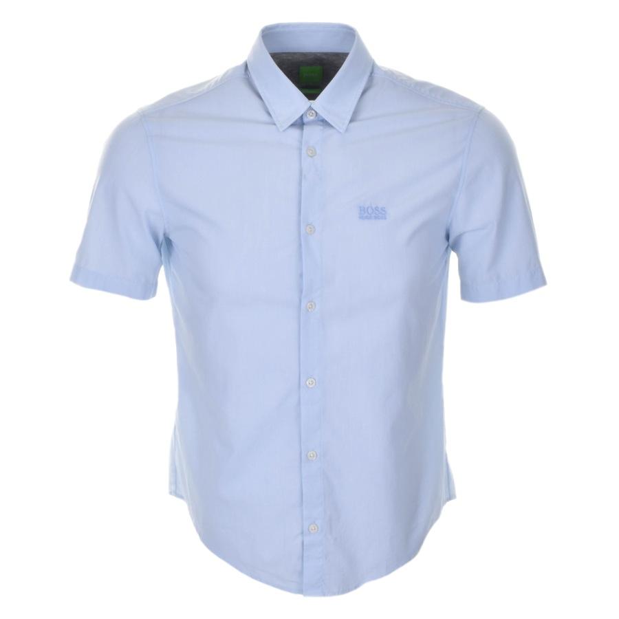 HUGO BOSS Green C Busterino Shirt Blue £69 Click to visit Mainline