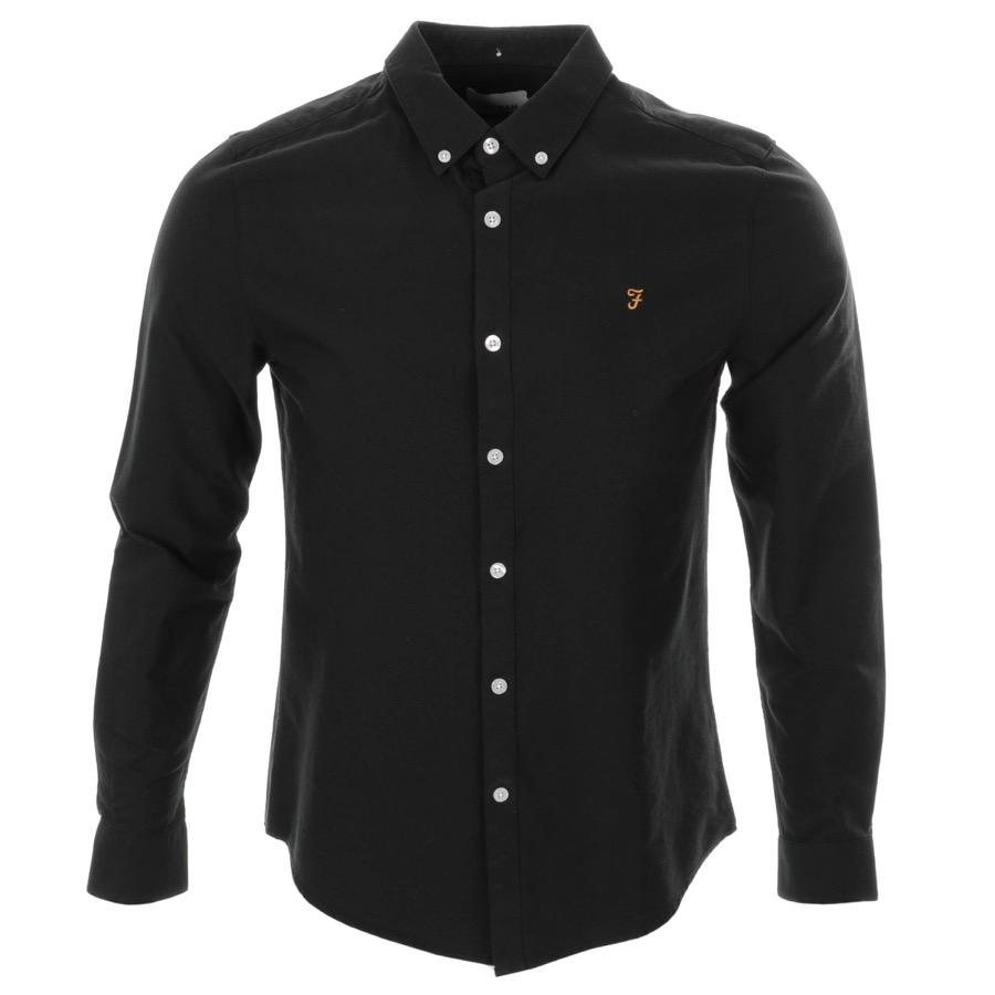 Farah Vintage Brewer Shirt Black £55 Click to visit Mainline Menswear
