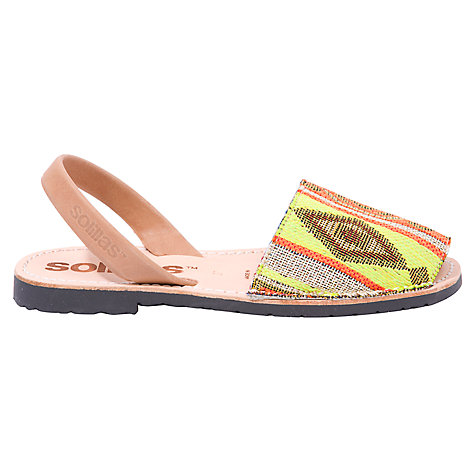 Solillas Original Two Part Sandals, Aztec Print £48 Click to visit John Lewis