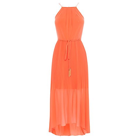 Coast Mauritus Pleated Maxi Dress, Orange £109 Click to visit John Lewis