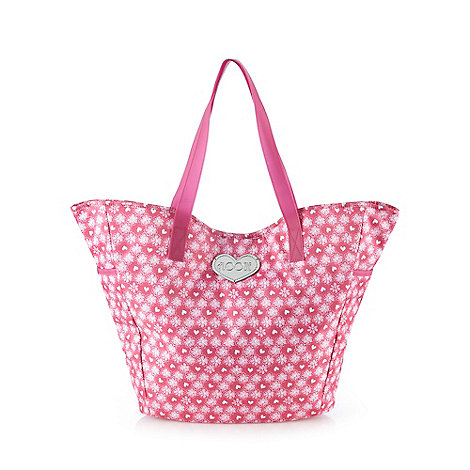Floozie by Frost French Pink heart tote bag £17.50