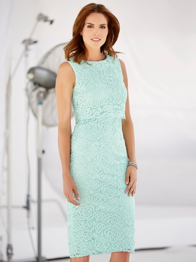 Double layer lace dress £47.40 Click to visit M&Co