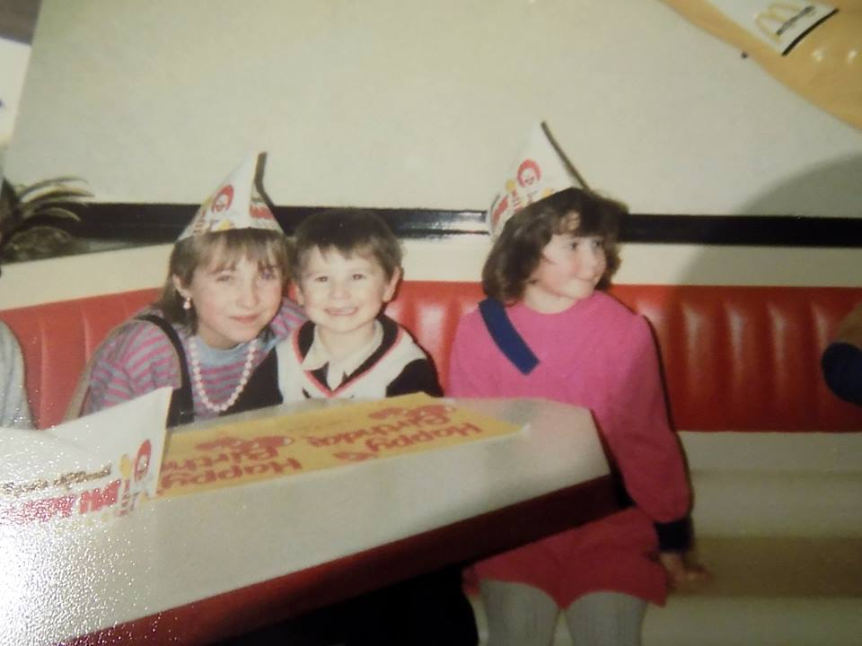 At a McDonalds Birthday party West Bromwich branch
