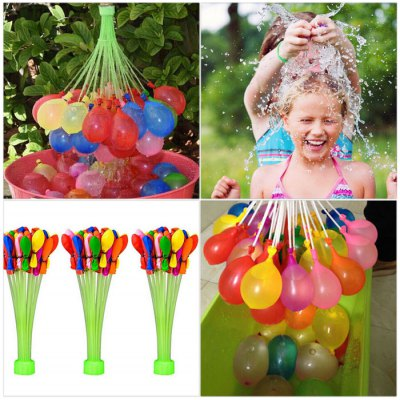 Magic Water Balloons 111 Pcs / Set Cool Water Fight for Summer Outdoor - COLORMIX Discount price £3.51