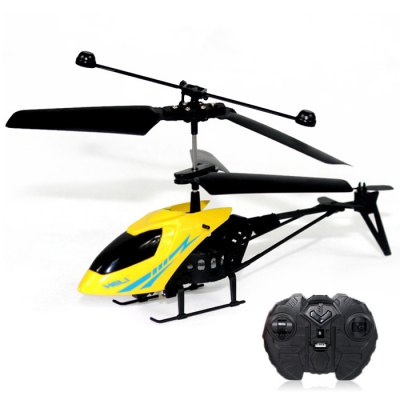 Mini RC 901 Helicopter Shatter Resistant 2.5CH Flight Toys with Gyro System - RANDOM COLOR flash price £4.94