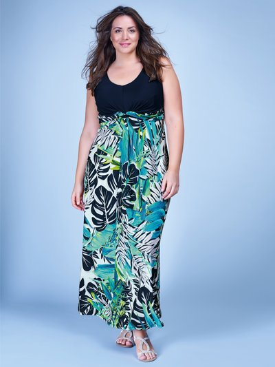 Plus tropical print maxi dress £39 Click to visit M&Co