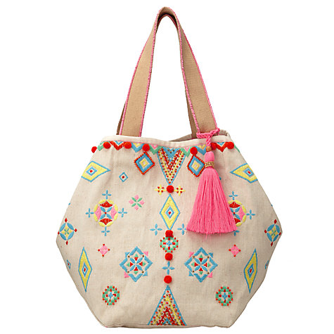 Collection WEEKEND by John Lewis Raffia Tote Bag, Multi £32 Click to visit John Lewis