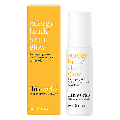 This Works Energy Bank Skin Glow, 30ml £30 Click to visit John Lewis