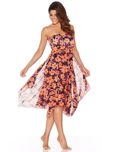 Hibiscus print skirt dress £28 Click to visit M&Co