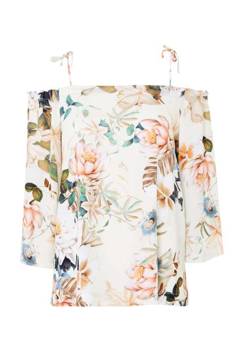 Floral Cold Shoulder Top Price: £35.00 Click to visit Wallis