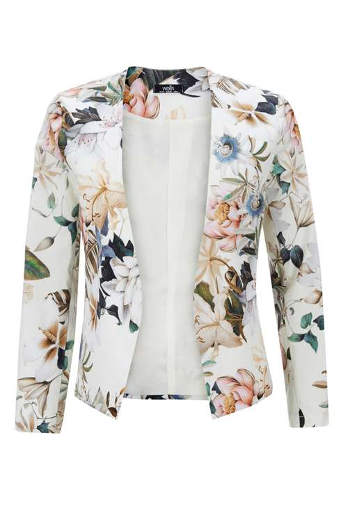 Floral Printed Jacket Price: £45.00 Click to visit Wallis