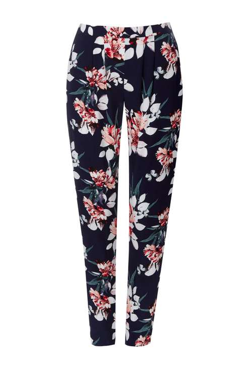 Navy Floral Printed Trouser Price: £30.00 Click to visit Wallis