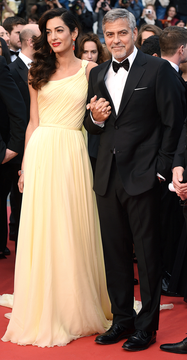 Mandatory Credit: Photo by David Fisher/REX/Shutterstock (5682983at) George Clooney and Amal Clooney 'Money Monster' premiere, 69th Cannes Film Festival, France - 12 May 2016