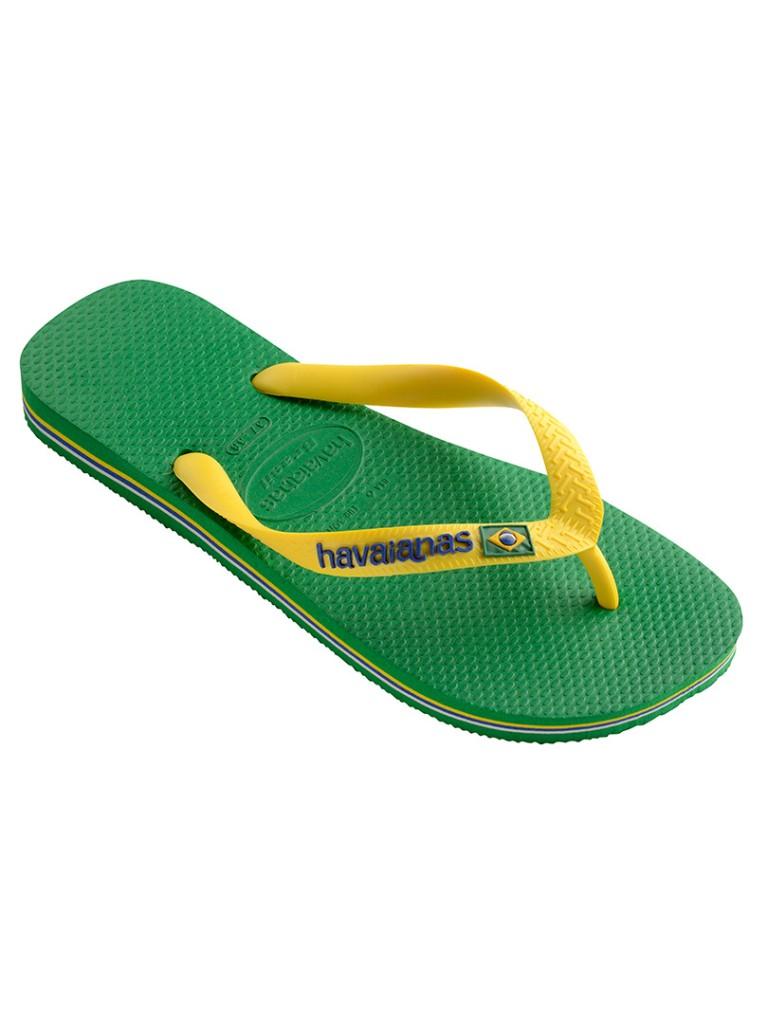 Havaianas Green Brasil Logo Flip Flops £18.95 Click to Visit Standout.Net