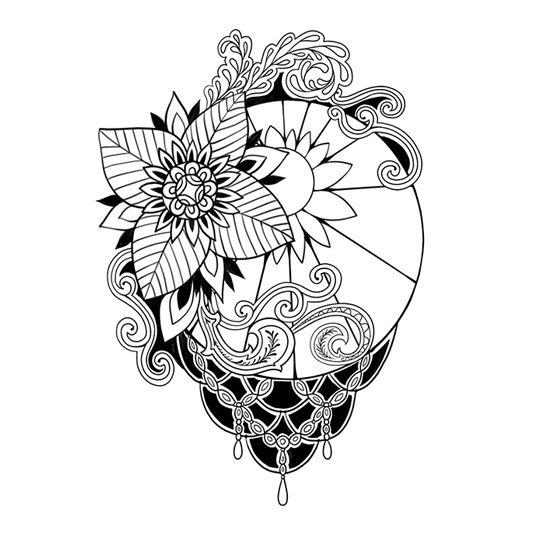 elegant-black-flower-temporary-tattoo-3025