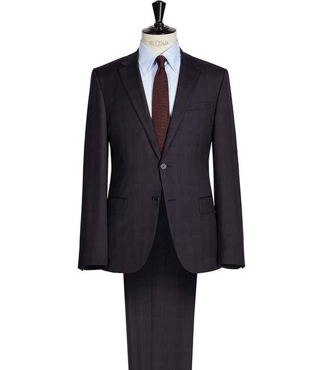 Horatious CHECKED WOOL SUIT NAVY £450 Click to visit Reiss