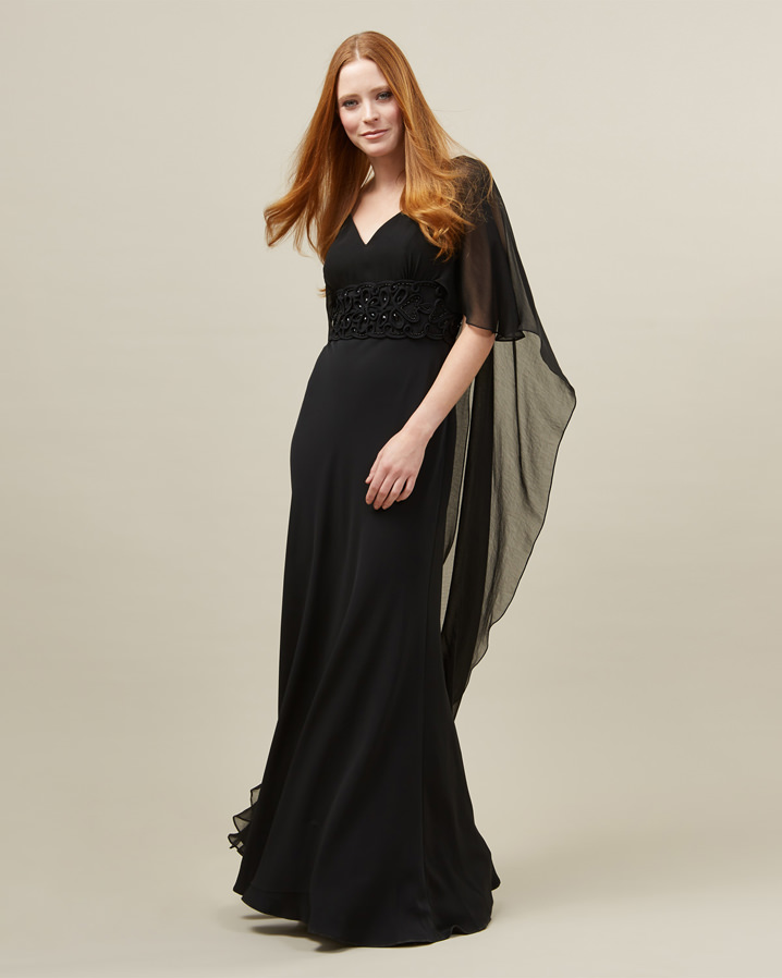 Vera Cape Full Length Dress £195.00 Click to visit Phase Eight