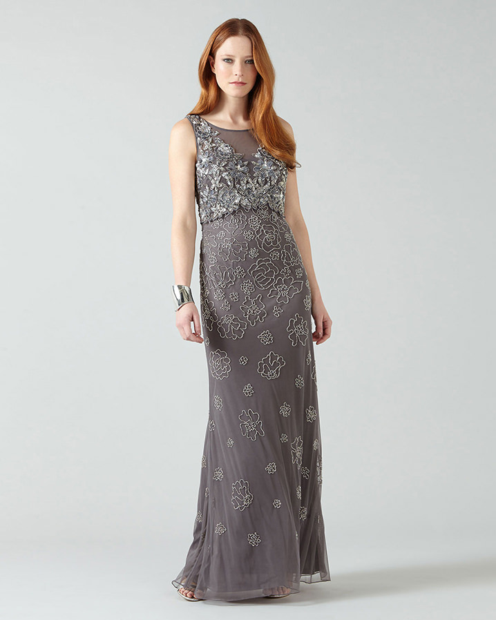 Antibes Embellished Full Length Dress £250.00 Click to visit Phase Eight