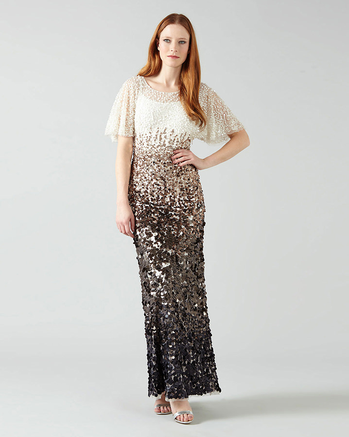 Contina Embellised Full Length Dress Sale £199.00 Click to visit Phase Eight