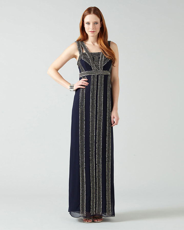 Ursuline Embellished Full Length Dress £160.00 Click to visit Phase Eight