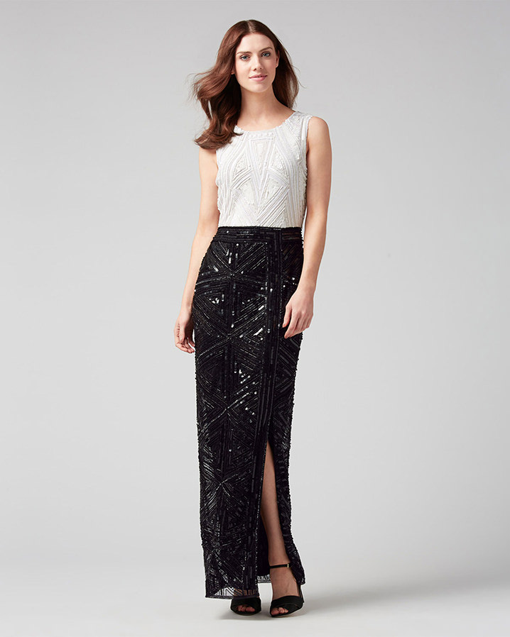 Grace Embellished Full Length Dress £375.00 Click to visit Phase Eight