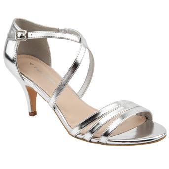 Emilio Luca X Sparkly Sammie Heeled Sandals £28 Click to visit Brantano