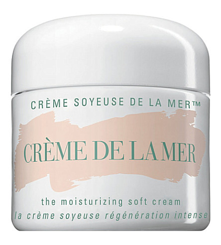 CREME DE LA MER Moisturizing Soft Crème 60ml £200.00 Click to visit Selfridges