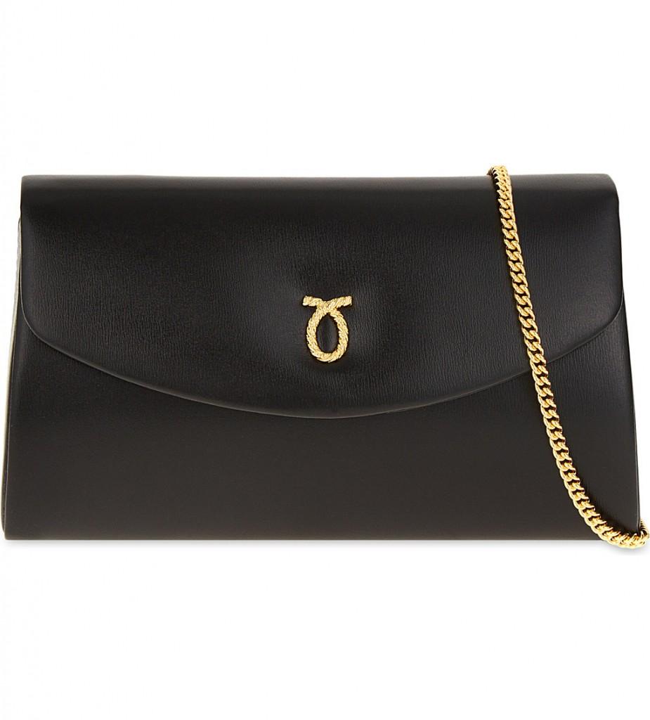 LAUNER High Society leather shoulder bag £580.00 Click to visit Selfridges