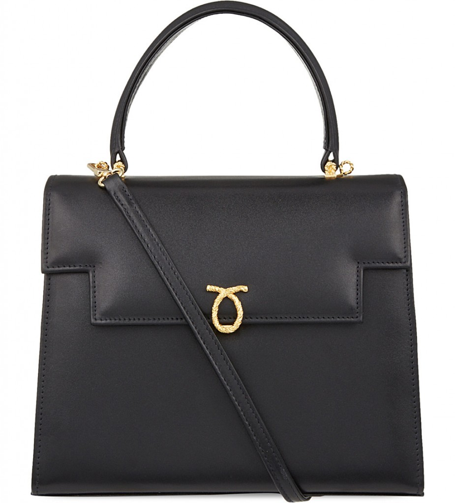 LAUNER Traviata leather tote £1,550.00 Click to visit Selfridges