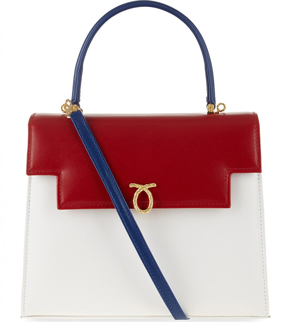LAUNER Traviata leather tote £1,550.00 Click to Selfridges