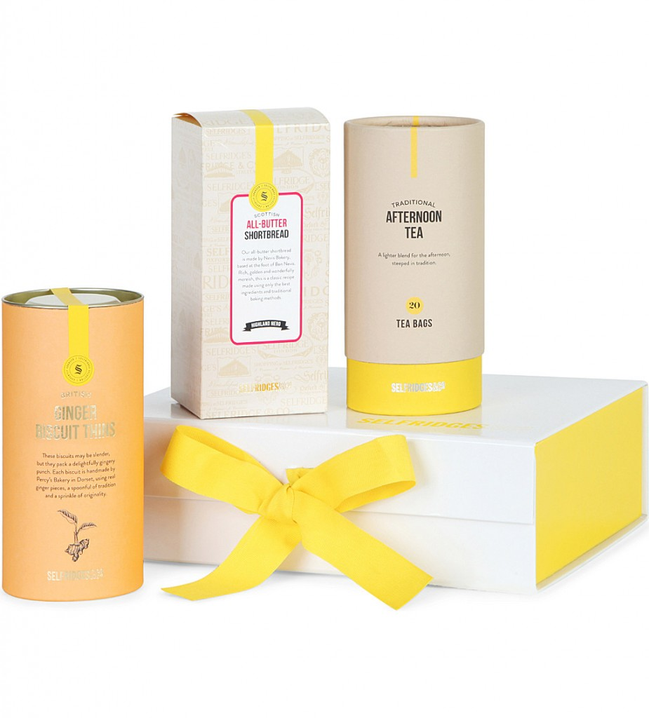 SELFRIDGES SELECTION Afternoon Tea gift box £25.00 Click to visit Selfridges