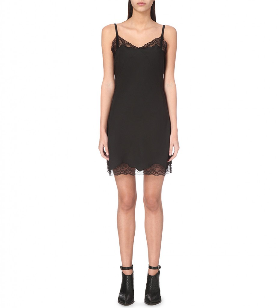 ALLSAINTS Emeline satin cami dress £98.00 Click to visit Selfridges