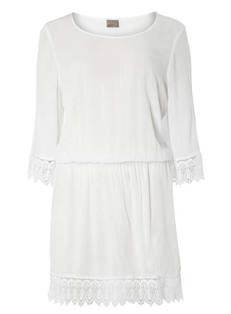**Vero Moda Crochet Mini Dress Was £36.00 Now £27.00 Click to visit Dorothy Perkins