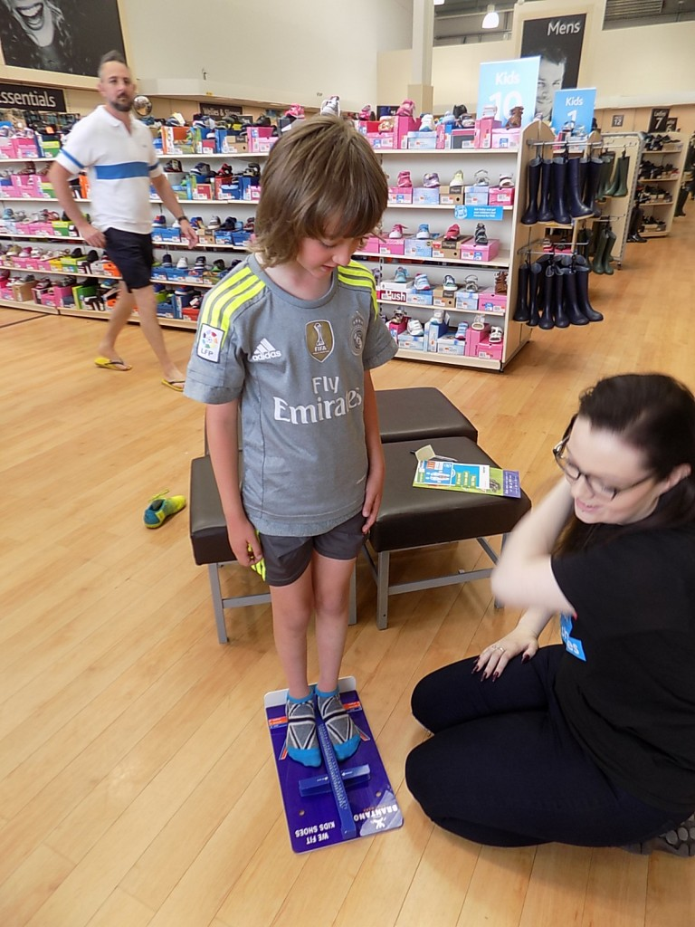 Kid's Shoe Fitting Service at Brantano