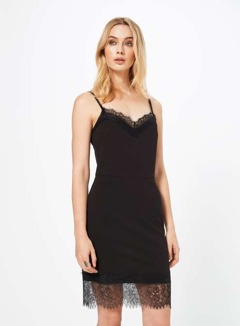 Black Lace Cami Dress £39.00 Click to visit Miss Selfridge