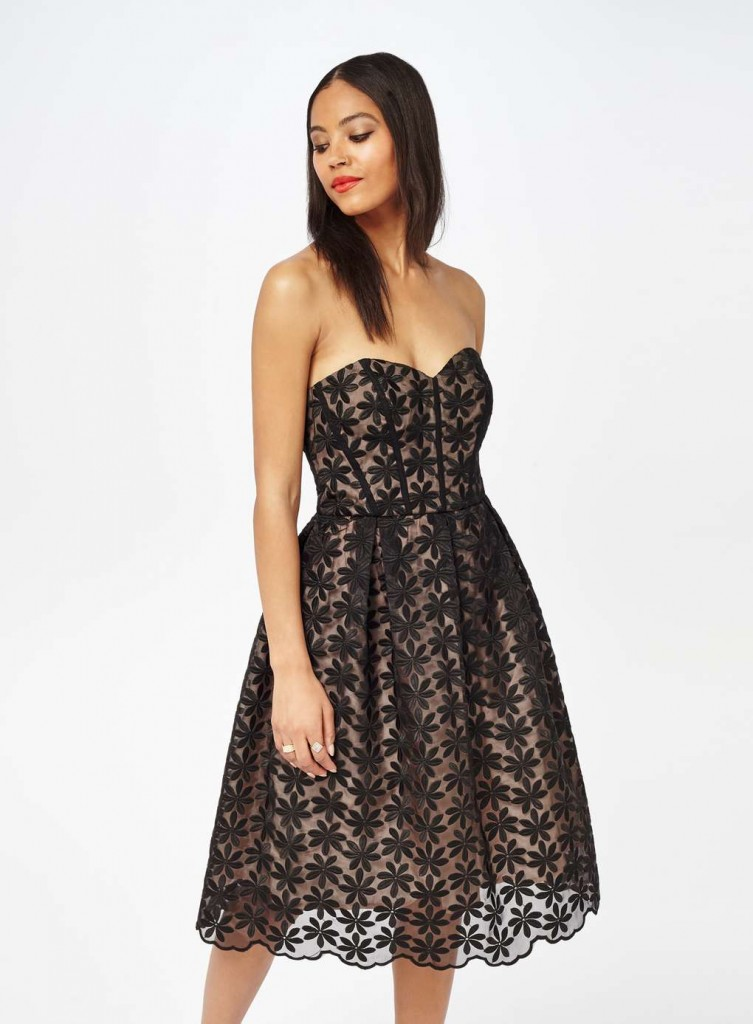 Black Organza Dress Was £75.00 Now £40.00Click to visit Miss Selfridge