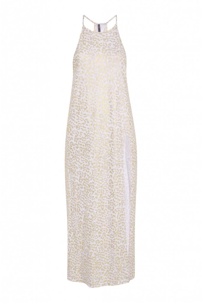 Burnout Leopard Print Maxi Dress By Kendall + Kylie at Topshop £35.00 Click to visit Topshop