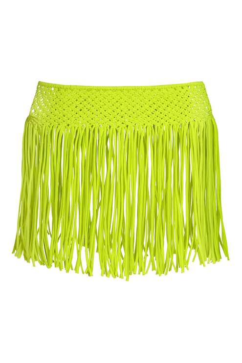 Macramé Fringed Skirt By Kendall + Kylie at Topshop £28.00 Click to visit Topshop