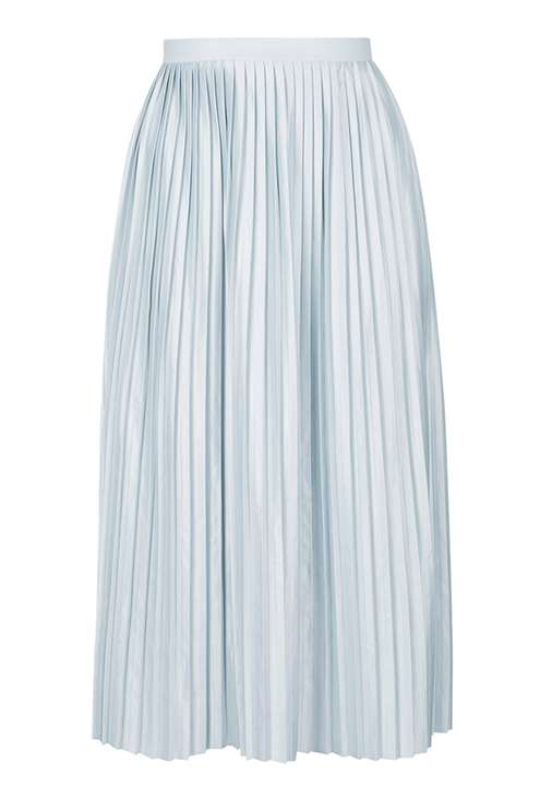 Jersey Pleat Midi Skirt £32.00 Click to visit Topshop