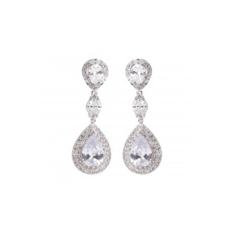 'Dani' teardrop earrings £65 Click to visit Terry Terry