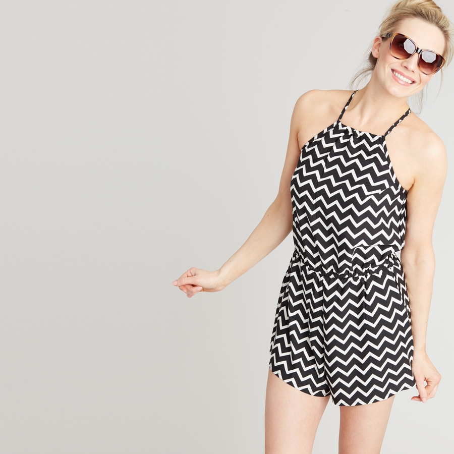 Chevron Playsuit Was: £10.00 Now: £6.00 Click to visit Store 21