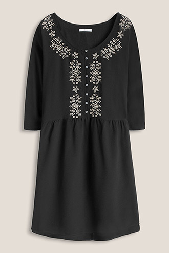 Embroidered georgette dress £ 45.00