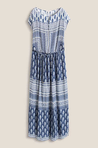 Flowing maxi dress in an ethnic style £ 59.00