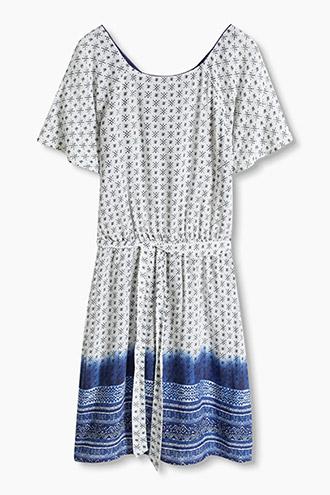 Ethnic print flowing dress £ 45.00