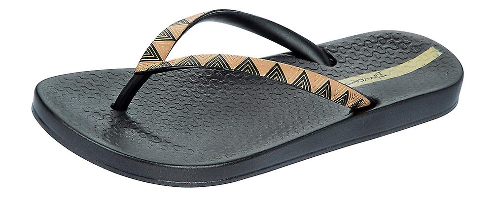 Ipanema Metallic III Womens Flip Flops / Sandals - Black Gold £10.95 Click to visit Frugo