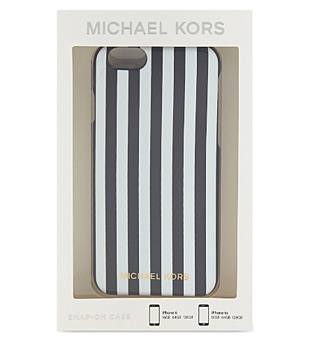 MICHAEL MICHAEL KORS Striped iPhone 6/6s case £45.00