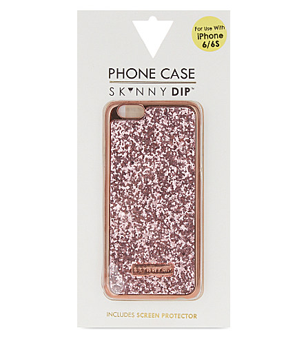 SKINNY DIP Dita rose gold iPhone 6/6S case £14.00 Click to visit Selfridges