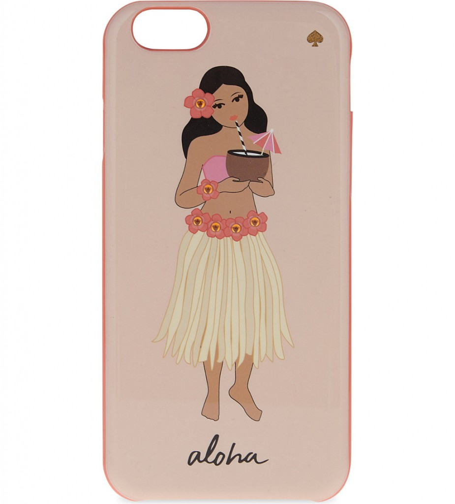 KATE SPADE NEW YORK Jewelled hula girl iPhone 6/6S case £40.00