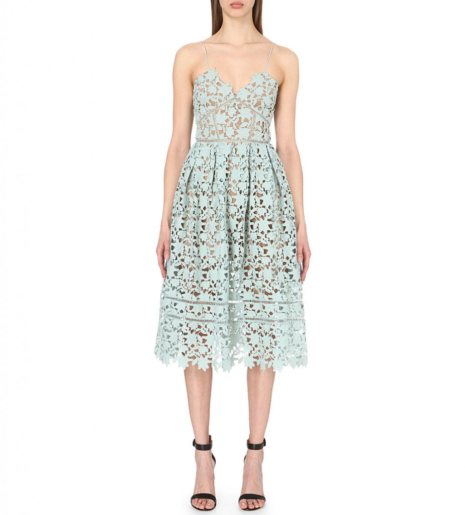 SELF-PORTRAIT Azaelea lace dress £240.00 Click to visit Selfridges